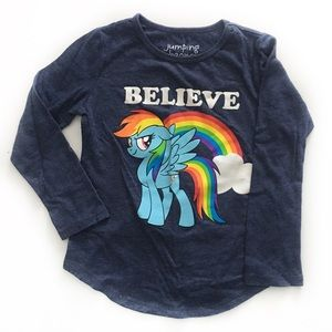 Rainbow Dash LS Tee